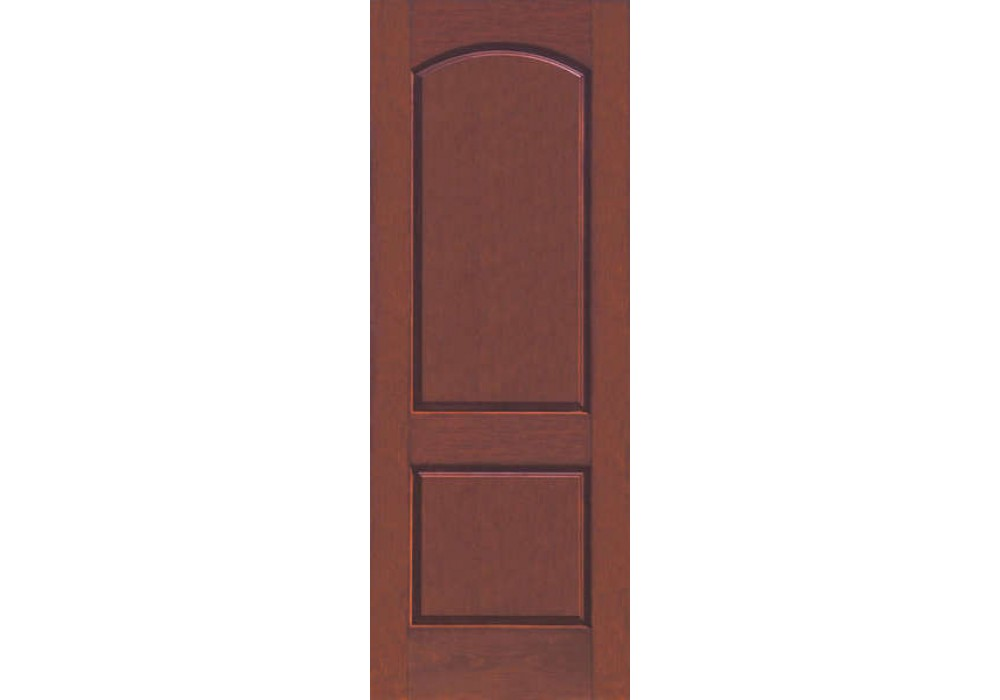 Ccr8200 Skyline Therma Tru Rustic Two Panel Square Top
