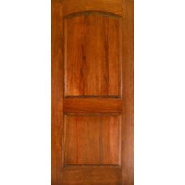 Ma230 Mahogany 2 Panel Arched Door 1 3 4 Quot